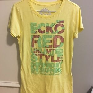 Yellow Ecko RED T-shirt